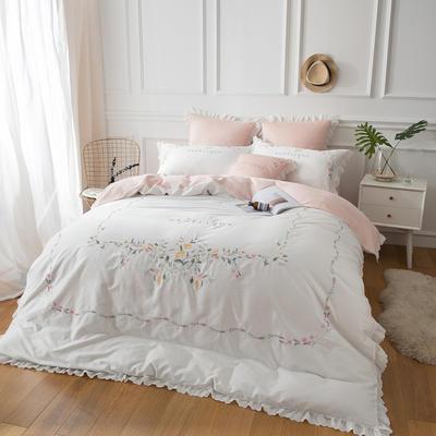云梦居-60长绒棉四件套 标准1.5m-1.8m床 莎蔓