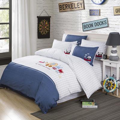 印加绣系列四件套 标准1.5m-1.8m床 畅游童话