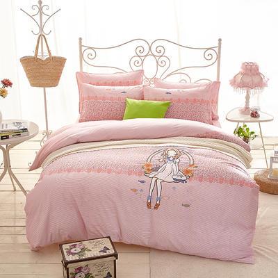 印加绣系列四件套 标准1.5m-1.8m床 快乐天使