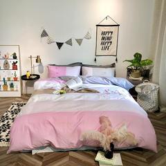2019新品全棉印加绣系列四件套实拍图 1.2m(4英尺)床 暗香