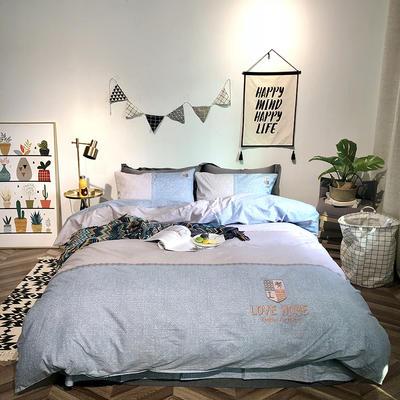 2019新品全棉印加绣系列四件套实拍图 1.2m(4英尺)床 时尚之家