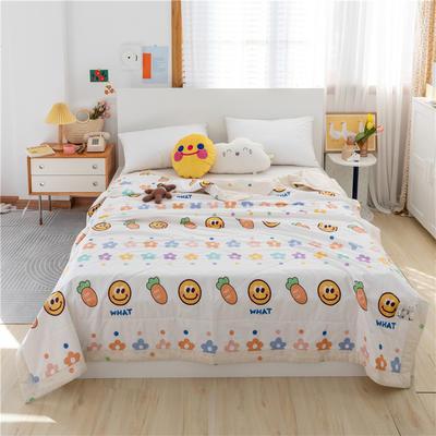 2021新款-13070新疆棉花夏被 200X230cm 萝卜的爱