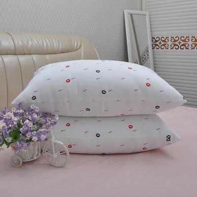 枕芯红唇枕头枕礼品枕头芯 45X72cm/只