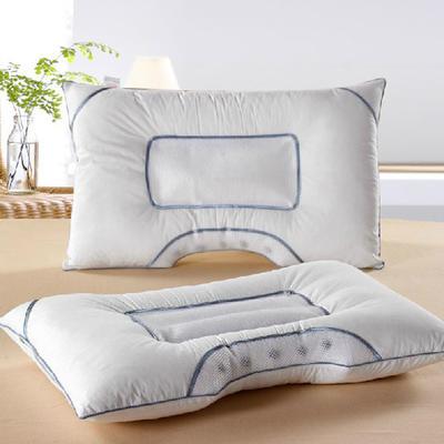 保健枕芯 月牙U型磁疗枕头护颈保健单人枕头枕芯 45*70cm/只