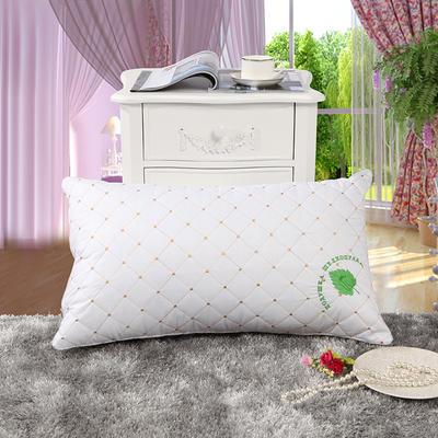特价枕芯 蚕丝羽丝绒单人枕头枕芯赠品枕礼品枕 磨毛(48*74)