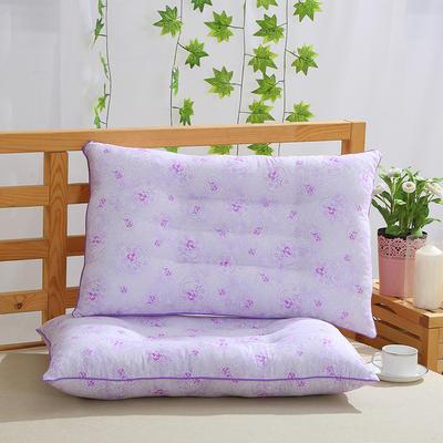 特价枕芯定型保健枕头枕芯(48*74) 紫色风情