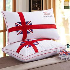 羽丝枕系列-米字旗纤丝枕(48*74) 米字旗纤丝枕