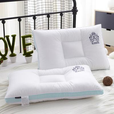 新款枕芯全棉枕头羽丝绒单人枕头芯可水洗枕 北欧风情定型枕