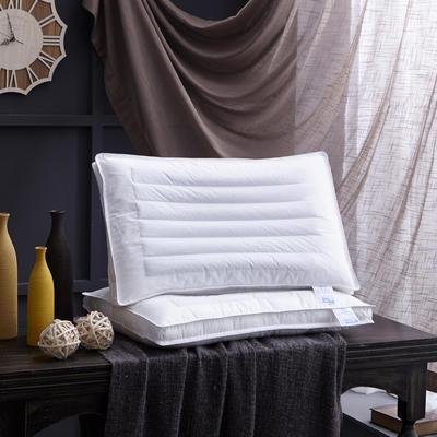 新款枕芯全棉枕头立体荞麦两用定型羽丝绒枕头枕芯单人枕 荞麦两用定型枕