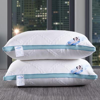 新款枕芯 针织棉枕头水立方枕头芯单人枕 新款针织棉水立方枕