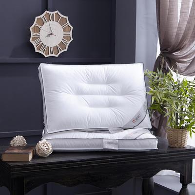 新款枕芯全棉枕头 优睡眠+全棉定型羽丝绒枕头枕芯单人枕 优睡眠+全棉定型枕