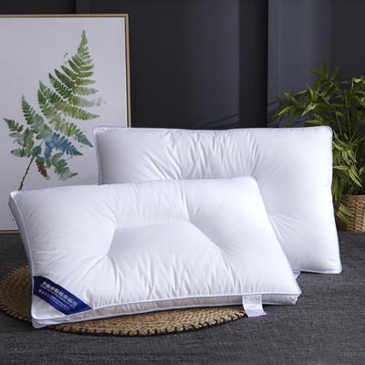 新款枕芯全棉枕头羽丝绒单人枕头枕芯定型可水洗枕 凹度定型枕
