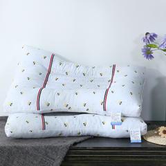 仁宇枕业  全棉小蜜蜂决明子保健枕头枕芯 小蜜蜂决明子保健枕