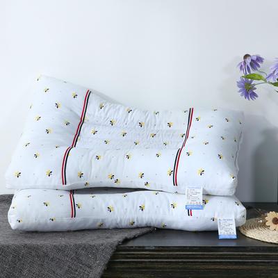 新款枕芯 全棉枕头小蜜蜂决明子保健枕头芯 小蜜蜂决明子保健枕