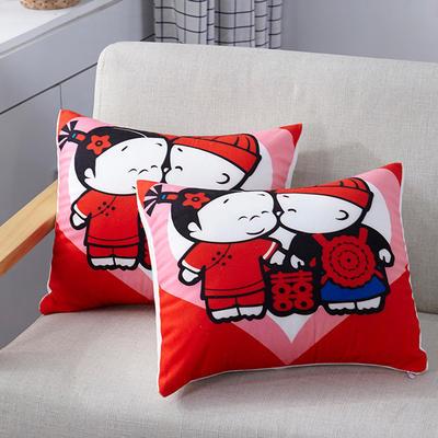 特价枕芯卡通抱枕头赠品枕礼品枕 39*39cm/一个 卡通抱枕 (7)