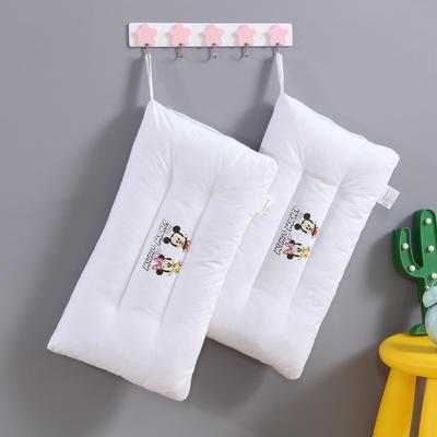 全棉枕芯 儿童水洗枕头30*50枕芯 两只老鼠(30*50cm)/一个