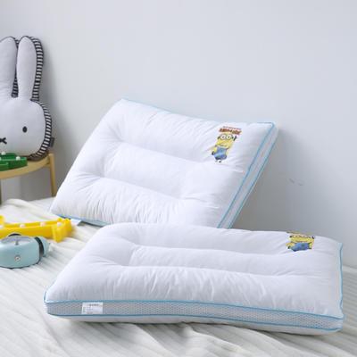 全棉枕芯 立体儿童水洗枕头40*60 小黄人(40*60cm)/一个