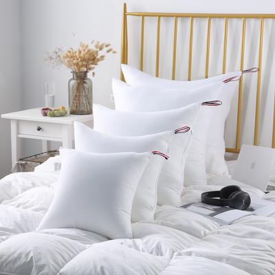 磨毛抱枕芯 提带磨毛抱枕芯 靠垫芯各种规格 40X40cm/一个 白色