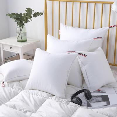 全棉抱枕芯 提带全棉防雨布抱枕芯 靠垫芯 30*50 白色