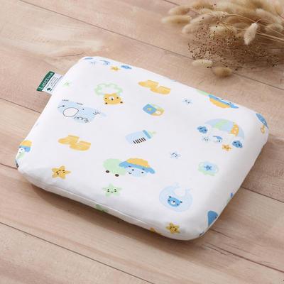 乳胶枕芯 婴儿定型乳胶枕头 其它 咩咩羊-蓝25*29*5/个