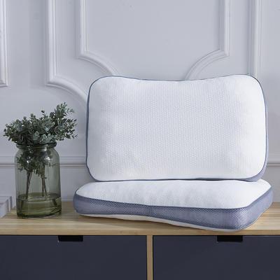 新款枕芯立体针织棉碎乳胶枕头枕芯 立体针织棉碎乳胶枕(40*60*10)