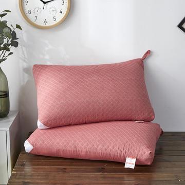 新款枕芯全棉枕头绗绣水洗热熔枕头枕芯