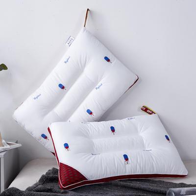 新款枕芯全棉枕头立体蜂窝羽丝绒定型枕头枕芯 蜂窝48*74cm/个