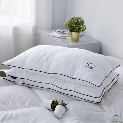 新款枕芯全棉枕头云朵羽丝绒子母枕头枕芯 云朵48*74cm/个