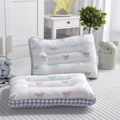 新款枕芯全棉新款六层纱儿童枕头枕芯 米奇30*50cm/个