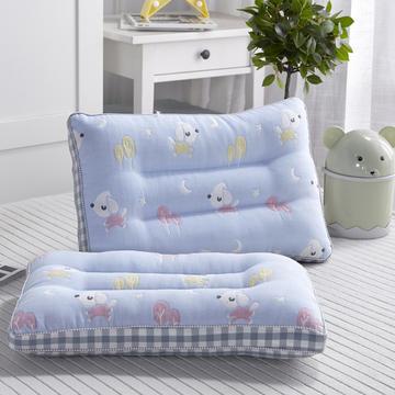 新款枕芯全棉新款六层纱儿童枕头枕芯