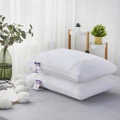 2018新款全棉新款蒙娜丽莎羽丝绒枕头枕芯 蒙娜丽莎48*74cm/个