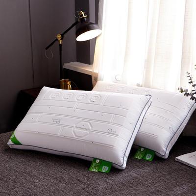 2019新款枕芯全棉抗菌防霉热熔枕头 抗菌防霉热熔枕头48*74cm