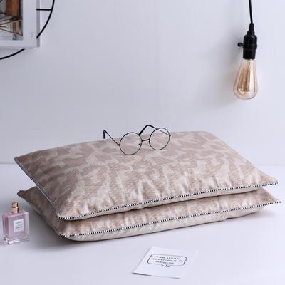 2019新款枕芯夏季冰丝清凉全荞麦枕头 卡塞咖35*55cm