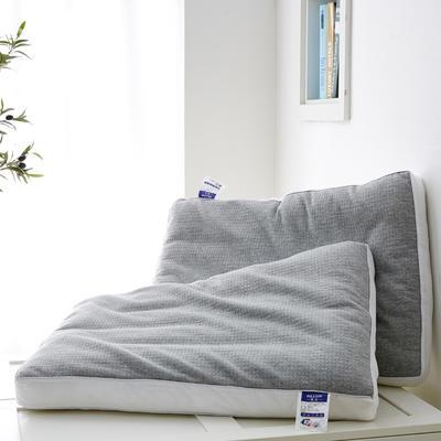 2019新款枕芯针织棉荞麦定型低枕头 荞麦定型低枕头48*74cm/只