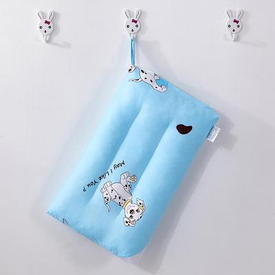 2019新款童真款全棉水洗儿童枕头 斑点狗-30*50cm/个
