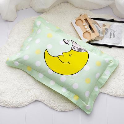 2019新款全棉儿童印花枕套 30cmX50cm/个 月亮宝宝