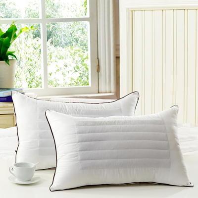 特价枕芯 磨毛荞麦两用枕头单人枕头枕芯 48X74cm/对
