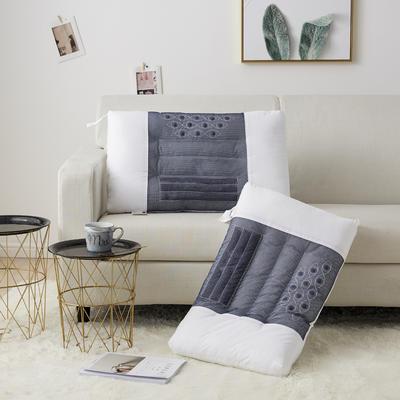2019新款枕芯 全棉决明子磁石按摩枕-48*74cm/个 决明子磁石按摩枕