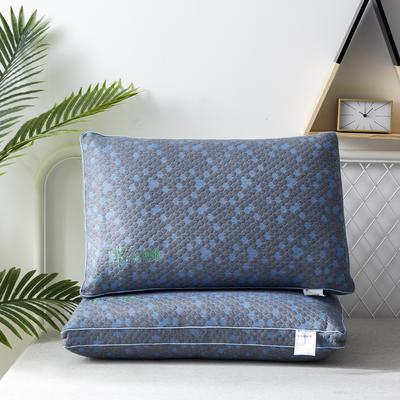 2019新款枕芯 深海蓝石墨烯热熔枕头-48*74 cm/个 石墨烯热熔枕头