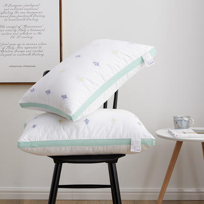 2019新款枕芯 异国风情羽丝绒枕头-48*74cm/个 异国风情羽丝绒枕