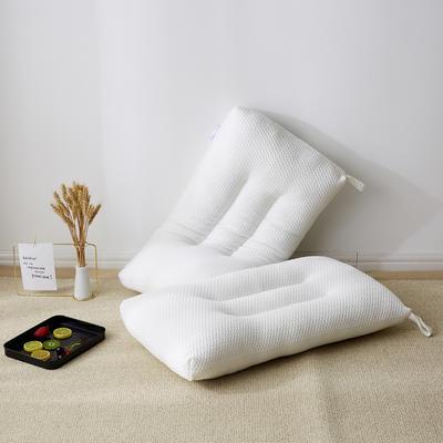 2019新款枕芯 针织时尚透气水洗枕头-48*74cm/个 透气水洗枕