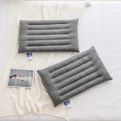 2020新款枕芯 条纹控低枕头-48*74cm/只 条纹控低枕头