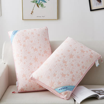 2020新款枕芯 五角星针织棉热熔枕-48*74cm 五角星