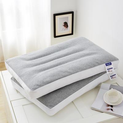 2020新款枕芯 针织棉荞麦定型低枕头-48*74cm/只 荞麦定型低枕头
