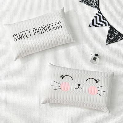 2020新款枕芯 儿童卡通乳胶枕头-30*50cm/个 白色老虎