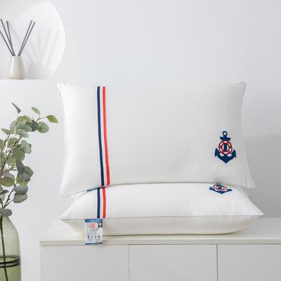 2020新款枕头 水晶绒枕芯-48*74cm/个 白色
