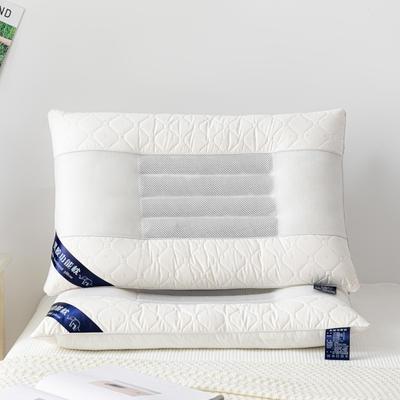 2020新款枕芯 决明子乳胶功能枕头-48*74cm/个 白色