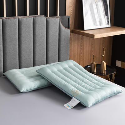 2020新款枕芯 长绒棉艾草低度枕头-48*74cm/个 艾草低度枕头
