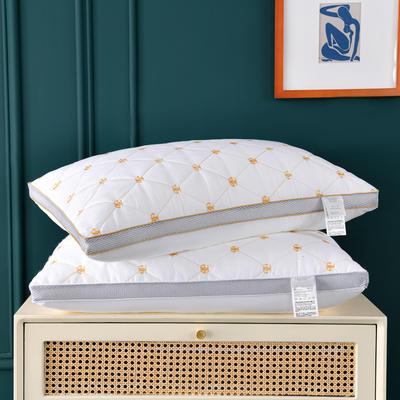 2020新款特价枕芯 磨毛双G刺绣枕头-48*74cm/个 双G刺绣枕头