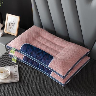 2021新款针芯 阳离子决明子乳胶功能枕枕头枕芯48*74cm /个 阳离子乳胶功能-红色